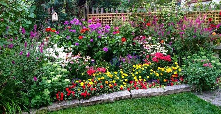 Flores perennes jardin-ideas-estilo
