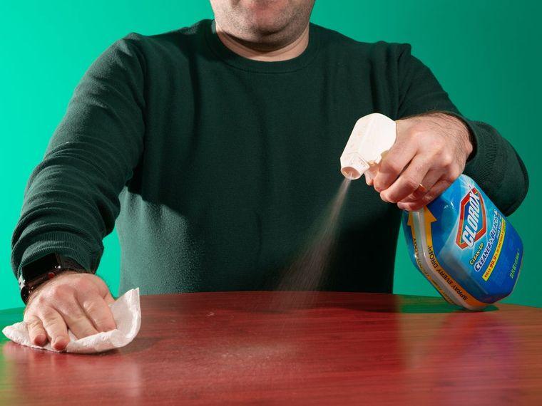 hábitos de higiene desinfectar