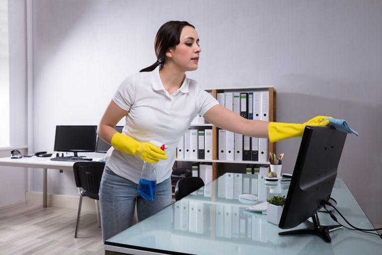 hábitos de higiene oficina