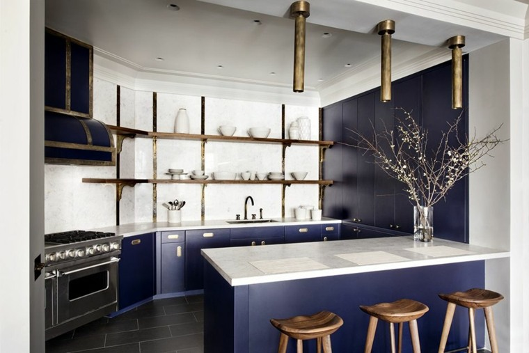 ideas-de-cocinas-muebles-color-azul