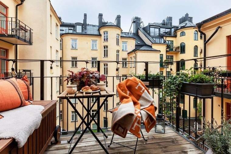 ideas para el hogar balcon pequeño