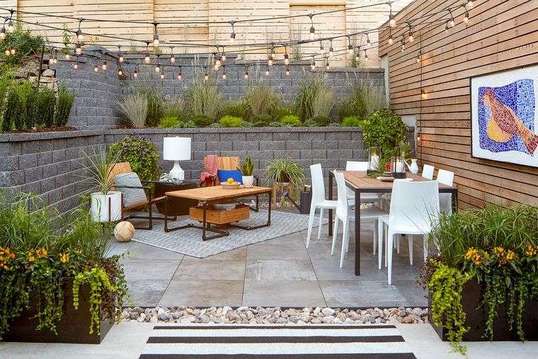 ideas para el hogar jardines