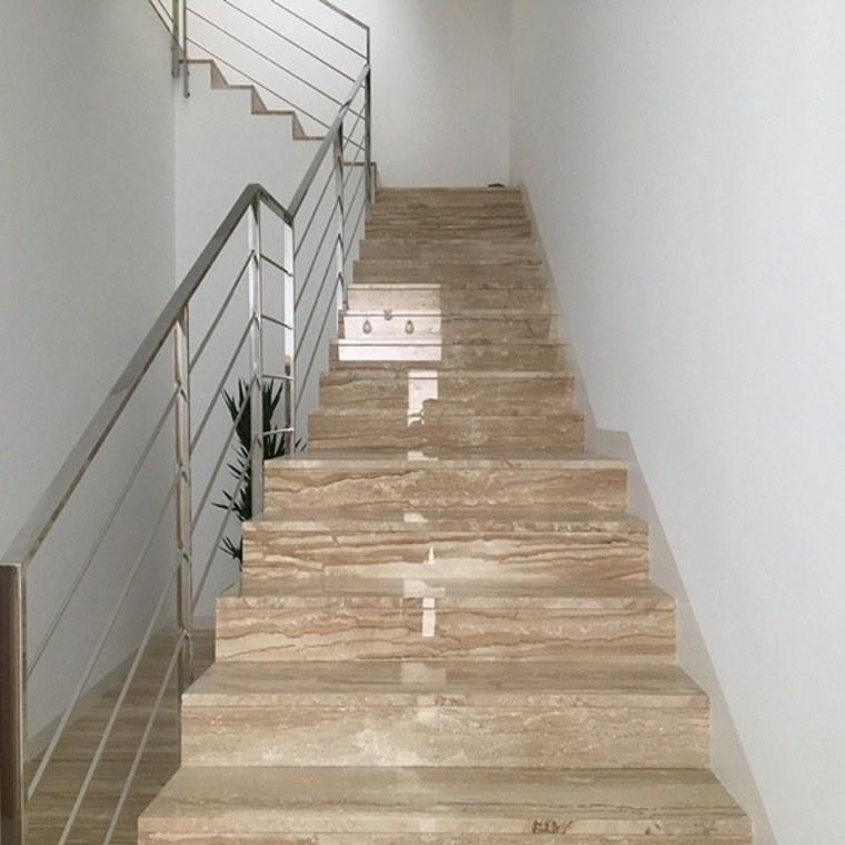 escaleras de mármol para interiores