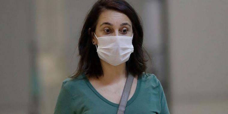 máscara protectora boca nariz