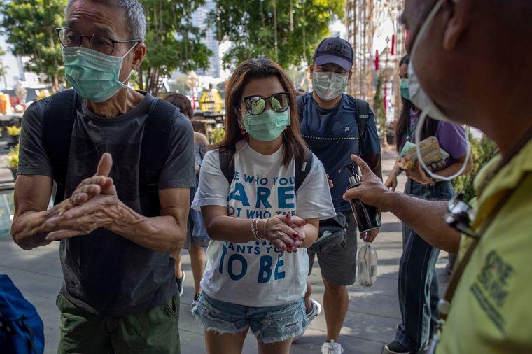 máscara protectora calle