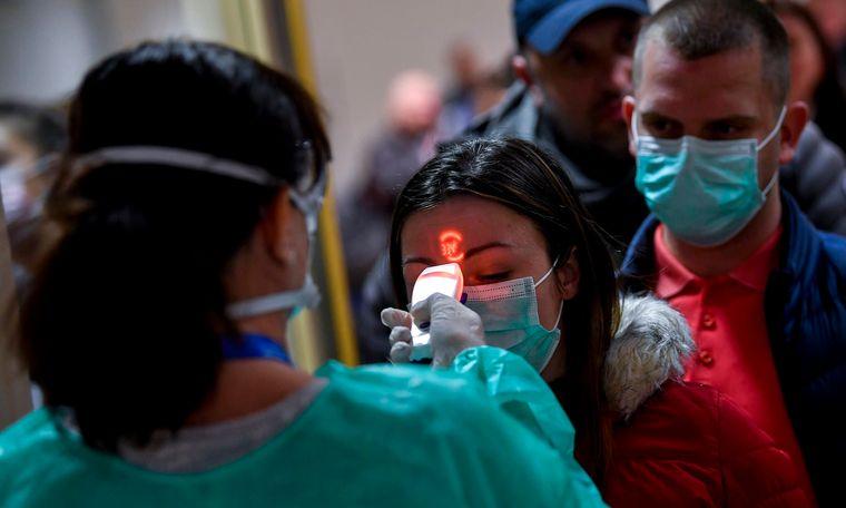 máscara protectora escaner