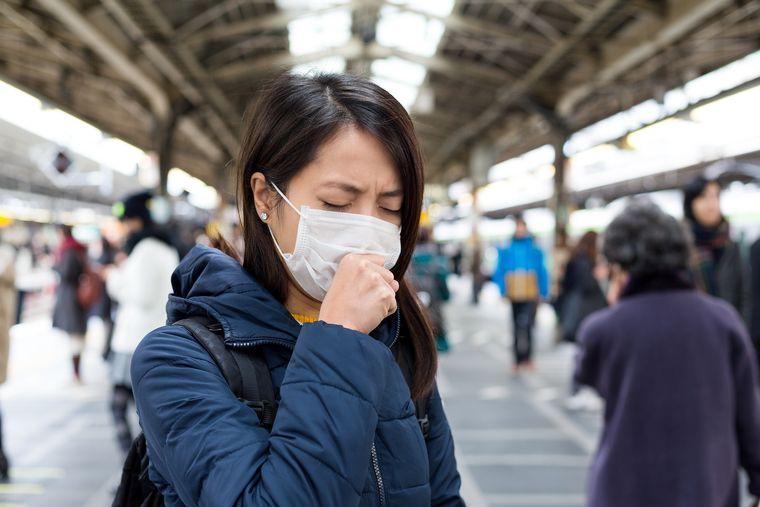 máscara protectora personas