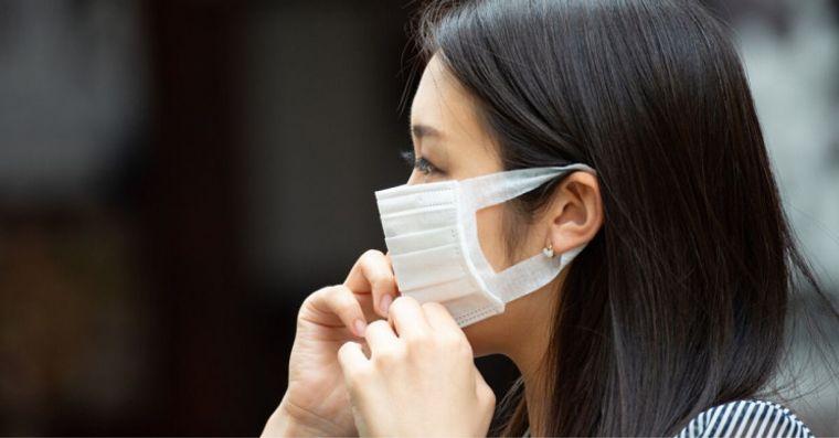 máscara protectora uso