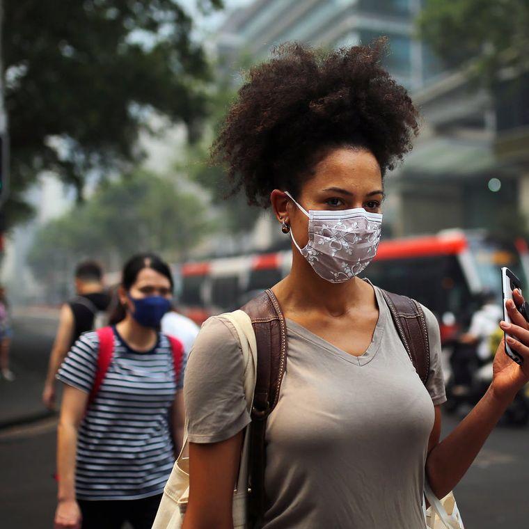 máscara protectora util