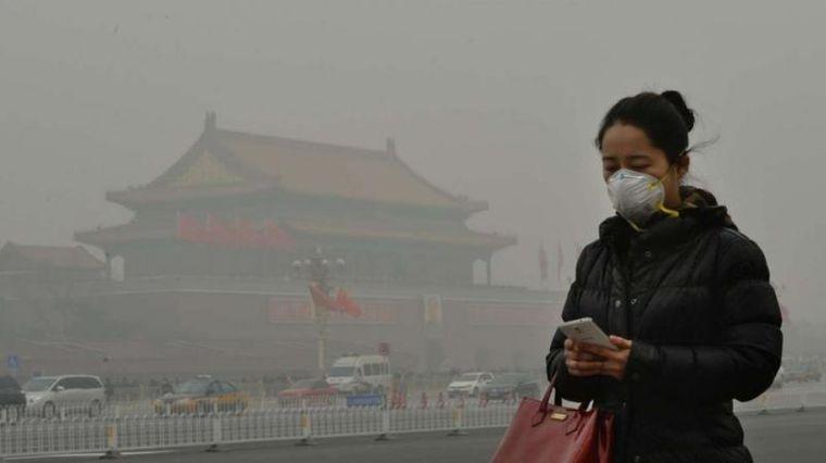 máscaras contaminacion