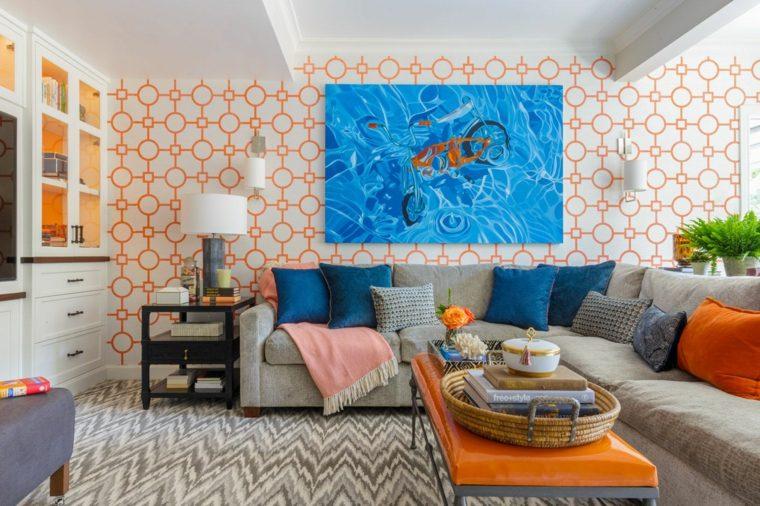 naranja-azul-sala-estar-opciones
