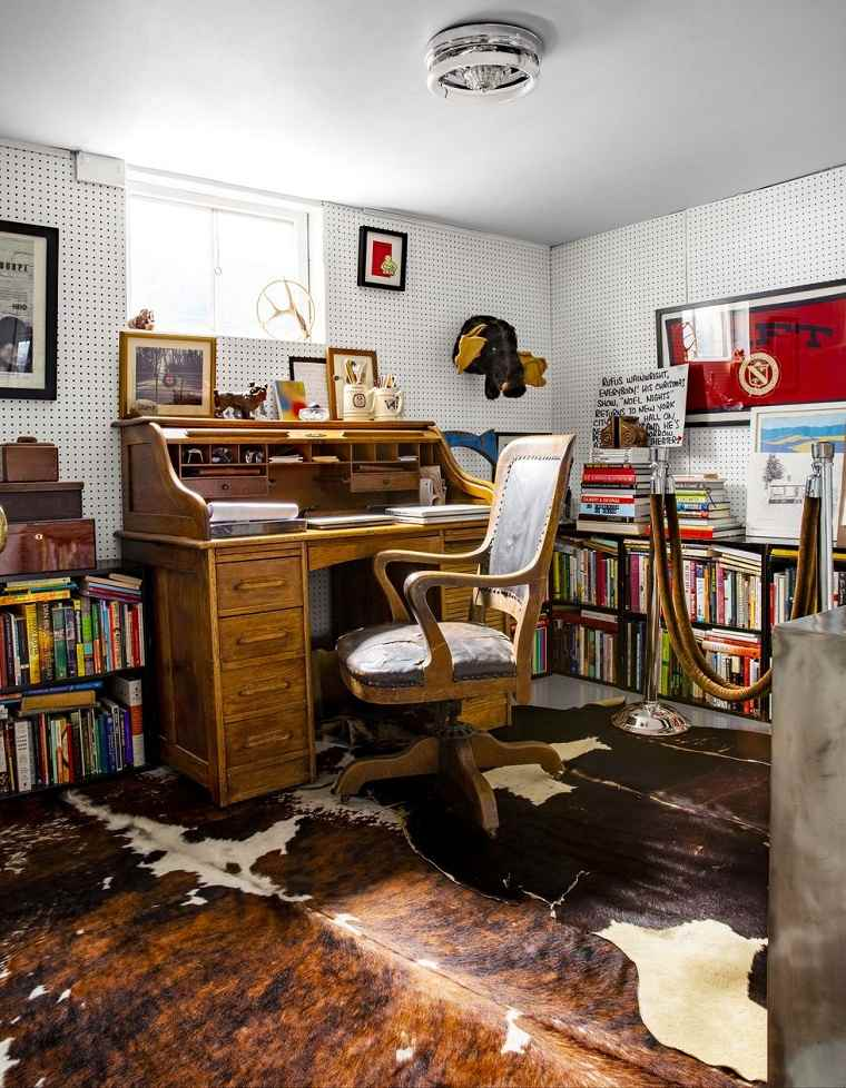 oficina-en-casa-diseno-vintage