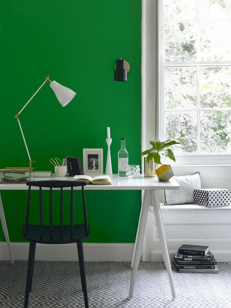 oficina en casa-pared-color-azul-opciones