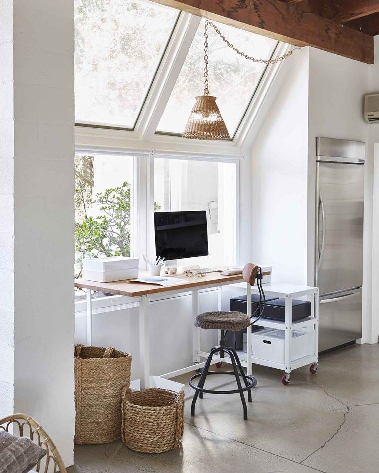 oficina en casa-ventana-estilo