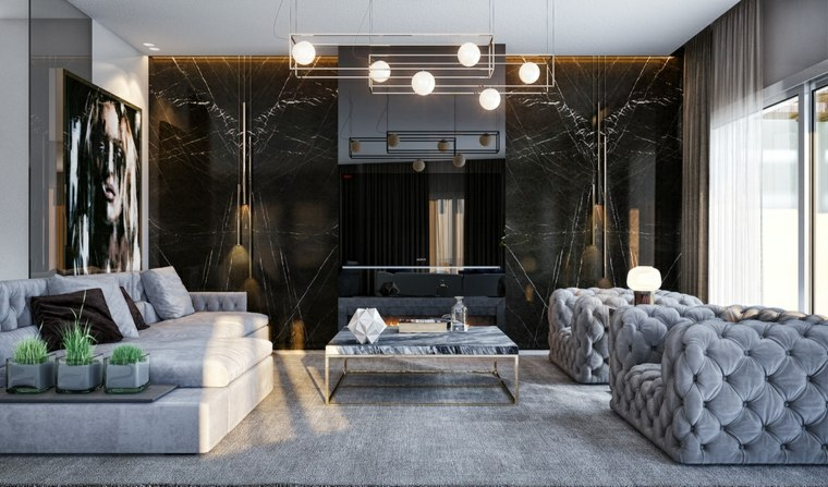 revestimiento-para-paredes-salon-pared-marmol-negro