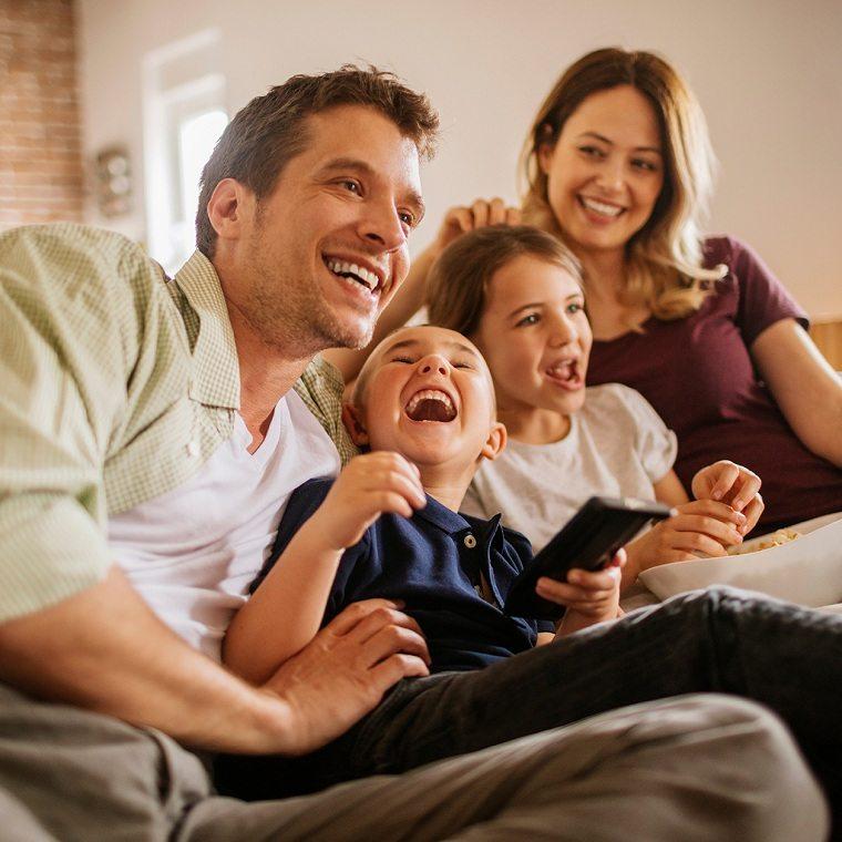 tiempo de calidad en familia-pelucilas