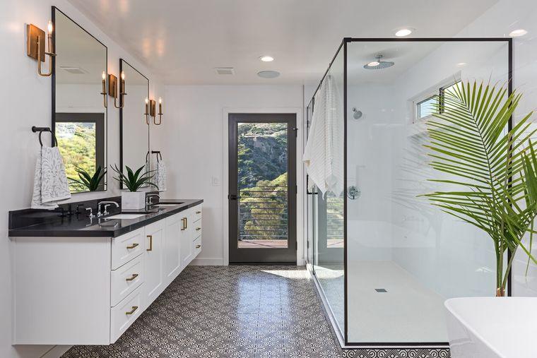 tipos de decoración baños