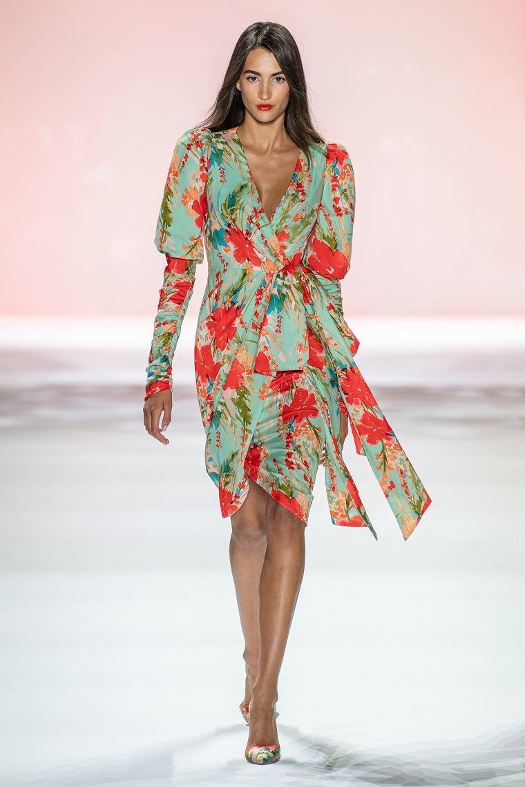 vestidos de moda 2020-Badgley-Mischka-diseno