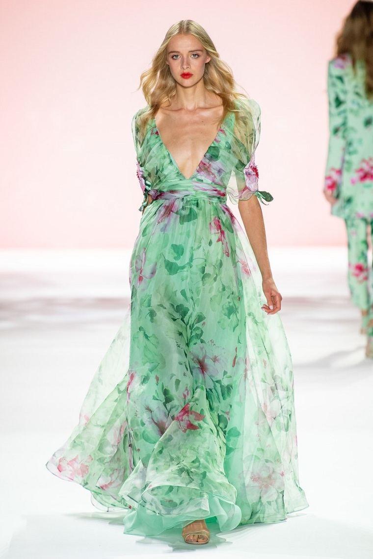 vestidos de moda 2020-Badgley-Mischka