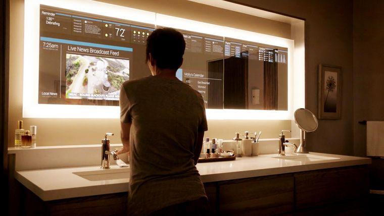 viviendas inteligentes espejos