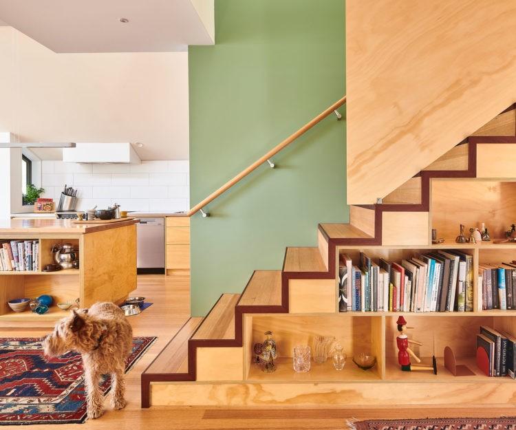 color-verde-diseno-interior-escaleras