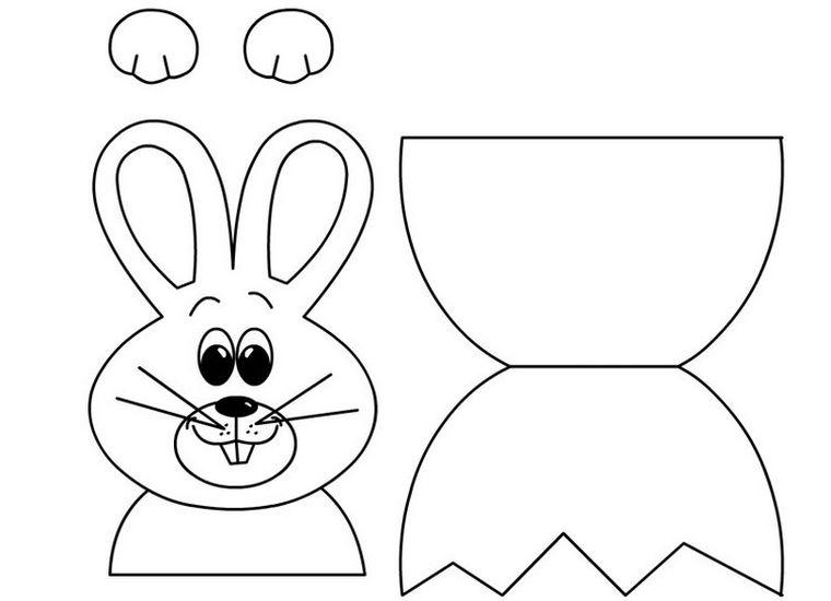 conejo-decoracion-casa-partes-imprimir