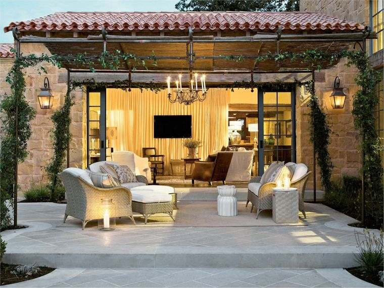 decoración de terrazas elegantes