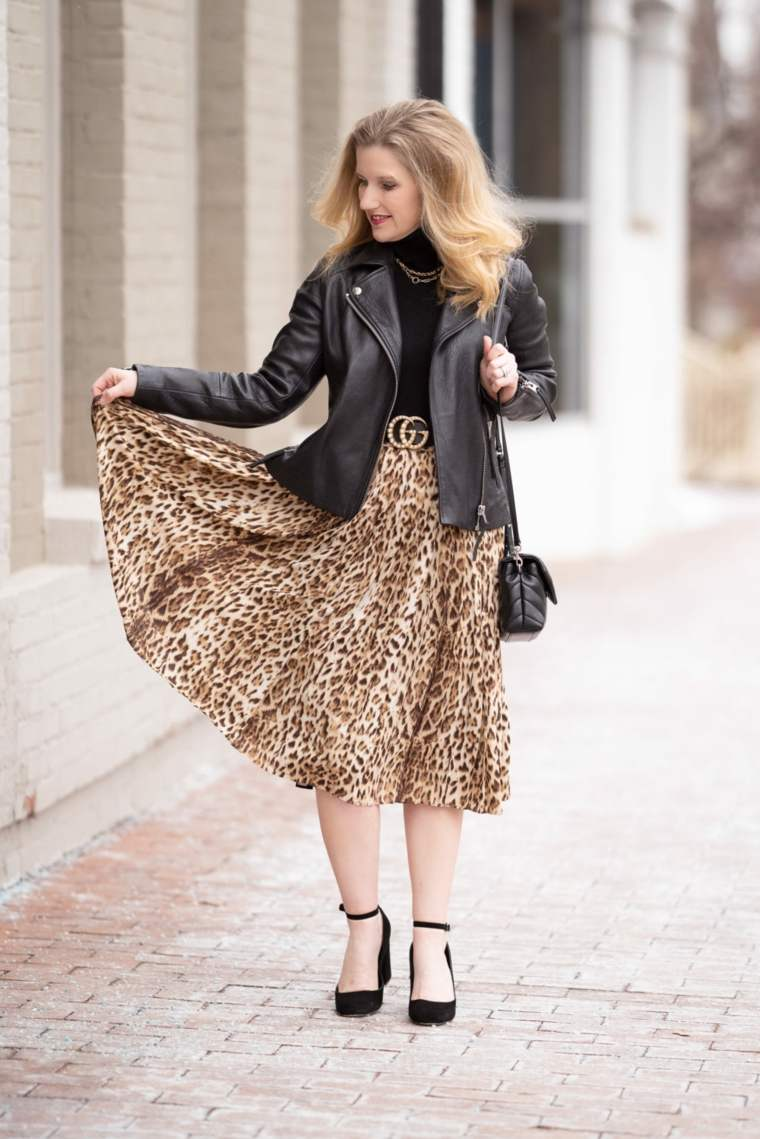 falda-Leopardo-Midi-ideas