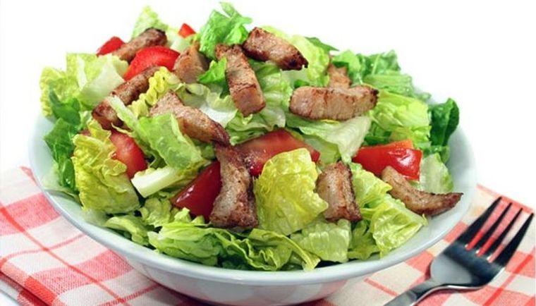 grasa corporal buena ensalada