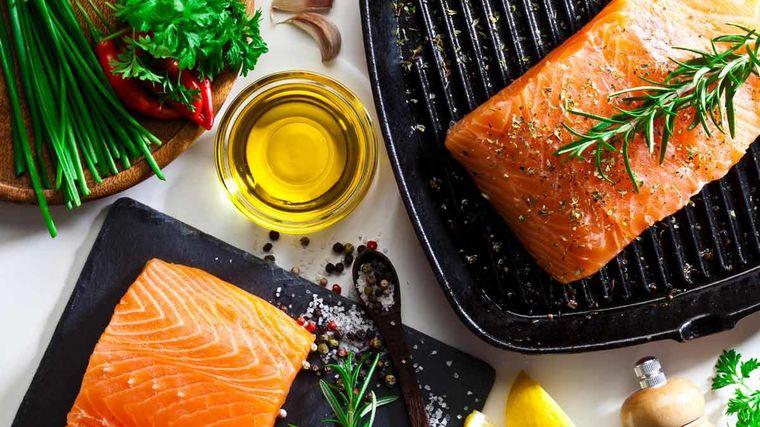 grasa corporal salmon