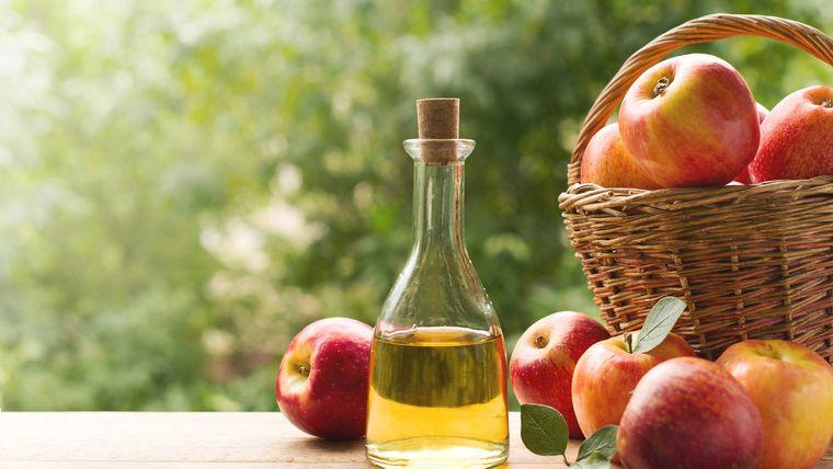 grasa corporal vinagre manzana