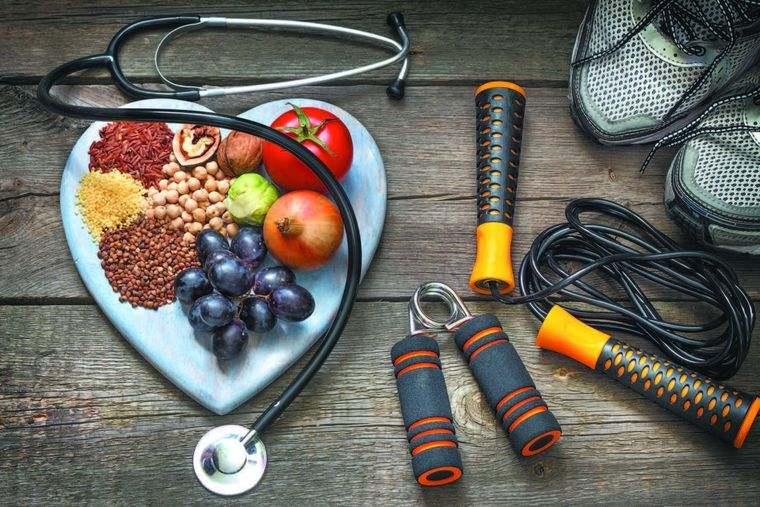 hábitos de vida saludable combinacion