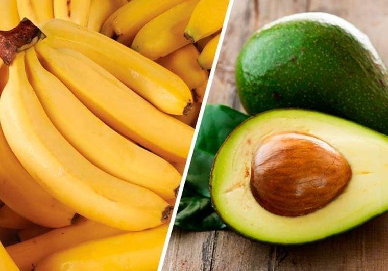 hidratar el cabello aguacate banana