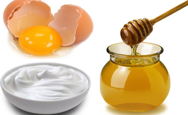 hidratar el cabello con huevo yogurt miel