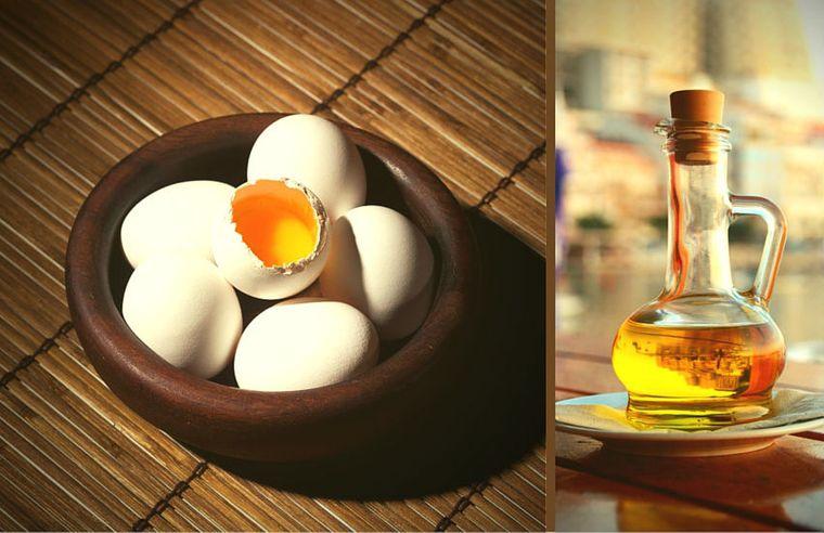 hidratar el cabello huevo oliva vitamina