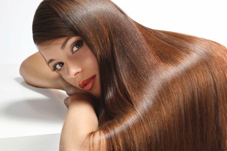 hidratar el cabello liso