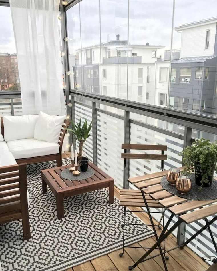 ideas de decoración balcon pequeño