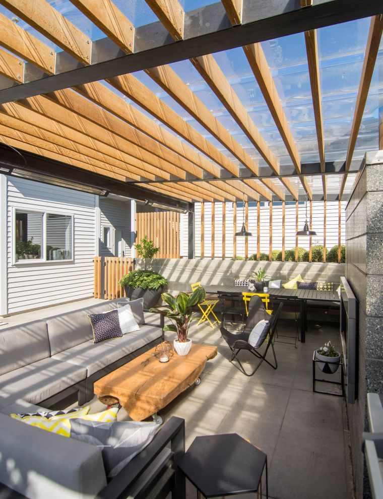 ideas-para-decorar-jardines-2020-bancos