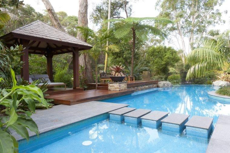 ideas-para-decorar-jardines-2020-piscina