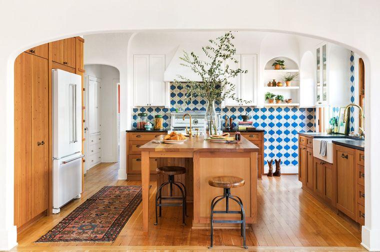 islas de cocina moderna