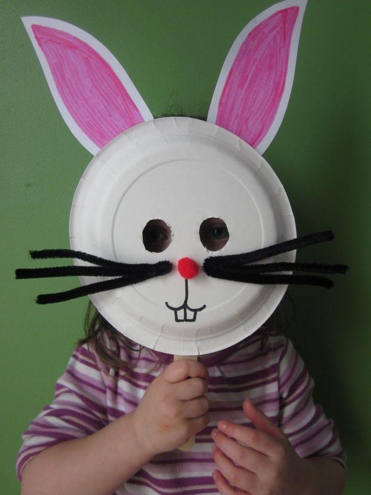 manualidades para niños conejo