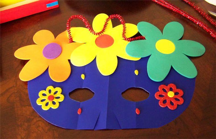 manualidades para niños flores