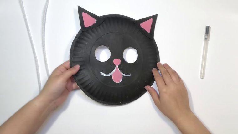manualidades para niños gato
