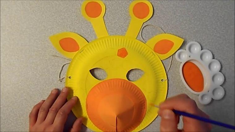 manualidades para niños jirafa