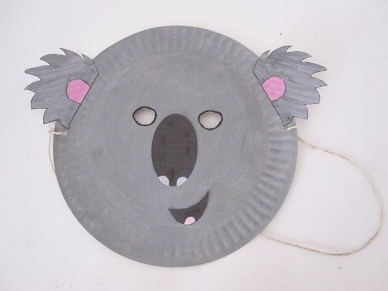 manualidades para niños koala