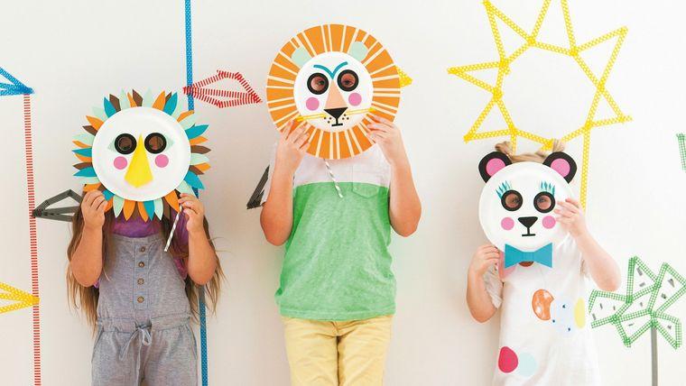 manualidades para niños mascaras
