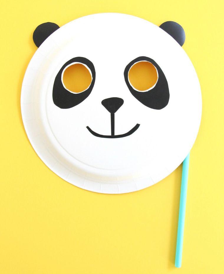 manualidades para niños panda