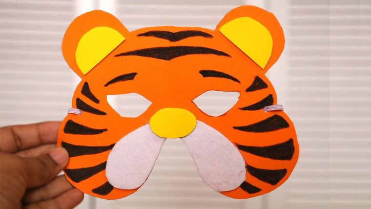 manualidades para niños tigre