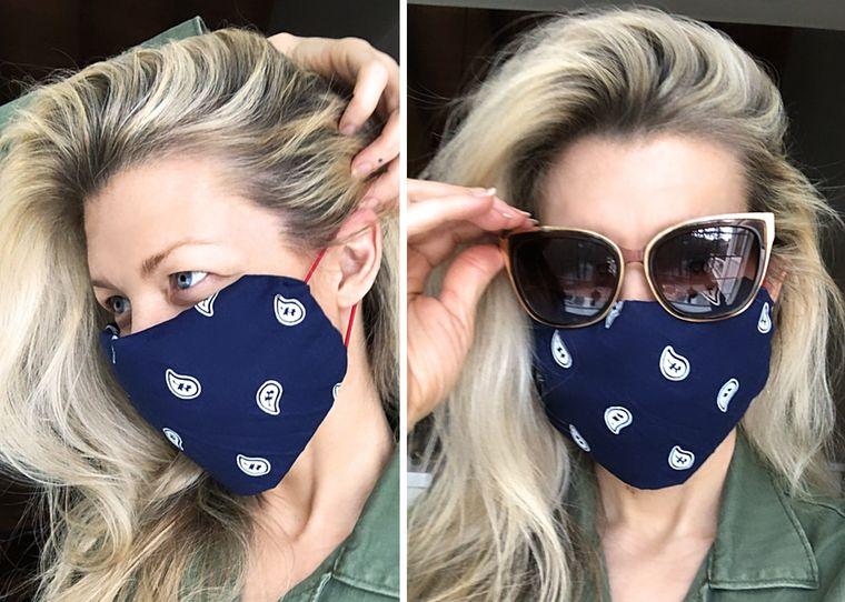 Haz tu máscara protectora de forma rápida sin coser y con materiales domésticos