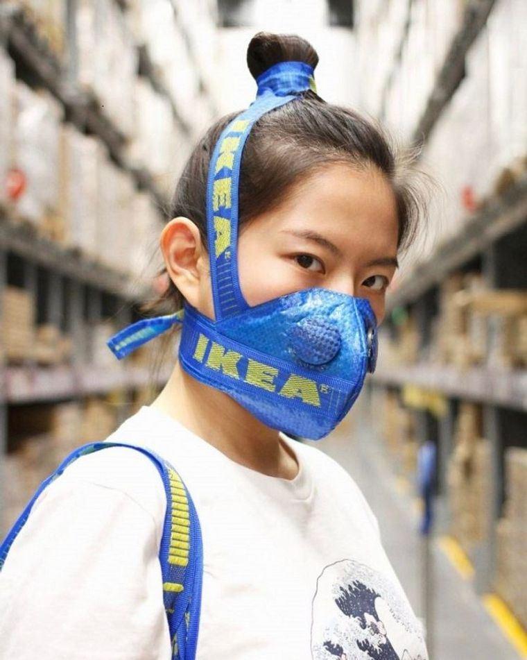 máscaras bolsa